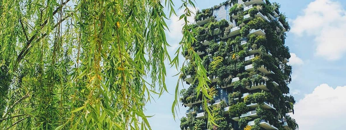 Vertical Forest tower in Milan